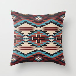 American Native Pattern No. 67 Throw Pillow