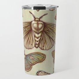Moths Travel Mug