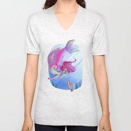 Parrotfish Merm Unisex V-Neck