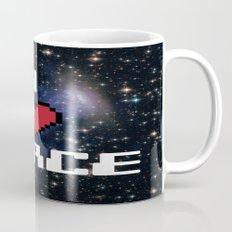I Heart Space Retro Galaxy Mug