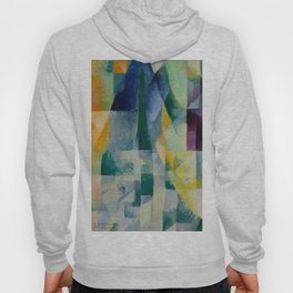 "Robert Delaunay ""Simultaneous Windows"" (2nd Motif, 1st Part), 1912 Hoody"