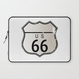Blank Route 66 Sign Laptop Sleeve