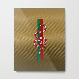 Gold CarbonGucci Metal Print