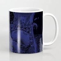 kraken Mugs featuring Kraken by Salih Gonenli