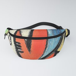 12,000pixel-500dpi - Pablo Picasso - Head - Digital Remastered Edition Fanny Pack