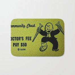 Pay the Dr. Bath Mat