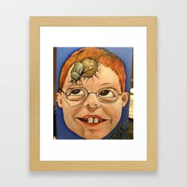 sh%&t head Framed Art Print