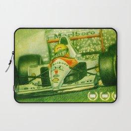 Ayrton Senna Tribute Laptop Sleeve