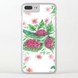 Ladybugs Clear iPhone Case