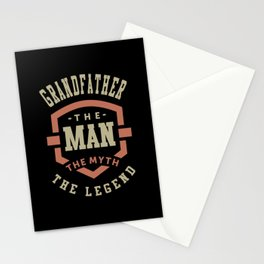 Grandfather The Myth The Legend Stationery Cards