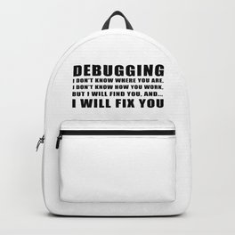 Debugging Backpack