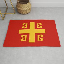 Flag of Byzantine Empire Rug