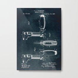 1897 - Monkey wrench Metal Print