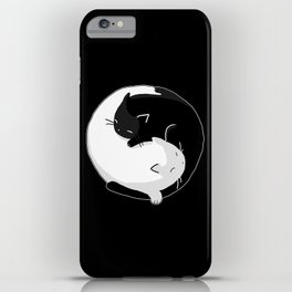 Yin Yang Cats iPhone Case