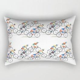 Ride to Win Rectangular Pillow