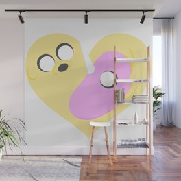 Tiers of Love - Happy Valentines Day ! Wall Mural