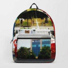 Little red tug Boat Backpack
