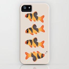 Clown loach iPhone Case