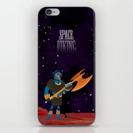 Space Viking (in Space) iPhone Skin