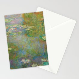 Claude Monet - Water Lily Pond Stationery Cards