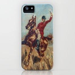 Henri Toulouse-Lautrec / Le maître d'équipage - 1882 iPhone Case