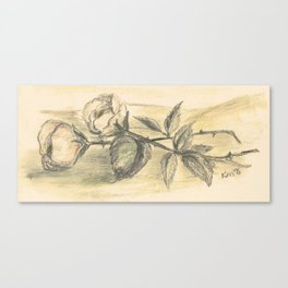 Mom's Flowers Canvas Print