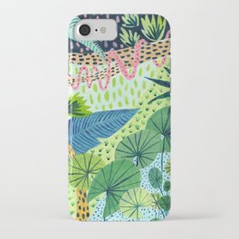 Topical Jungles iPhone Case