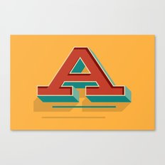 A is for... Anything Canvas Print
