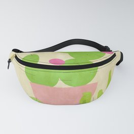 Cacti Mix Fanny Pack