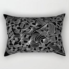 abstract drawing #6b Rectangular Pillow