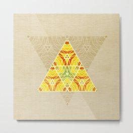 Summer Triangle Metal Print