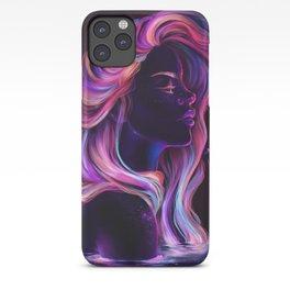 Blacklight Babe iPhone Case