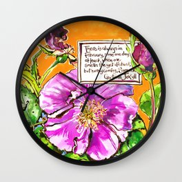 Promise of Summer Wall Clock