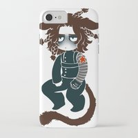 bucky iPhone & iPod Cases featuring bucky by cynamon