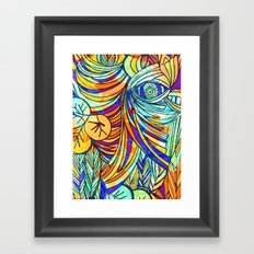 Let me be Framed Art Print