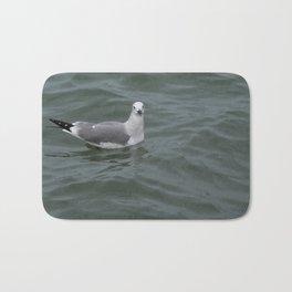 Seagull In The Ocean Bath Mat