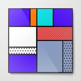 Cube Deco Metal Print