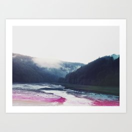 Low Tide in the Valley Art Print