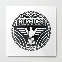 HOUSE ATREIDES BADGE Metal Print