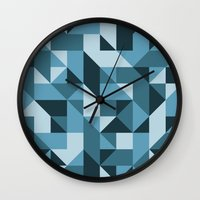industrial Wall Clocks featuring Industrial by Matt Borchert