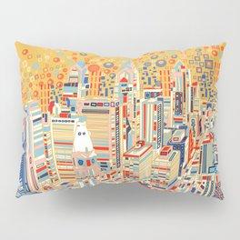 philadelphia city skyline Pillow Sham
