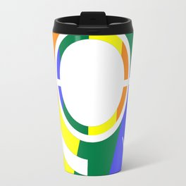 Ghost in the Rainbow Travel Mug