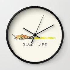 Slug Life Wall Clock