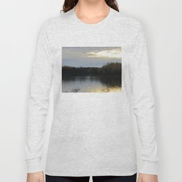 Sunset Over the Bay of Fundy Long Sleeve T-shirt
