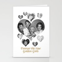 golden girls Stationery Cards featuring The Golden Girls by BeeJL