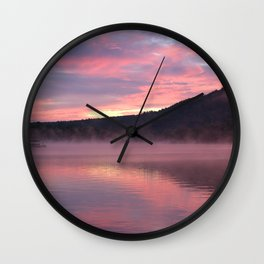 Sustenance at Sunrise Wall Clock