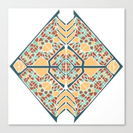 Vector Mandala Canvas Print