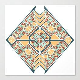 Vector Mandala Canvas Print