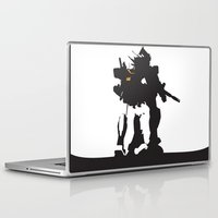 gundam Laptop & iPad Skins featuring Gundam RX-78-2 by Jason Weisbrot
