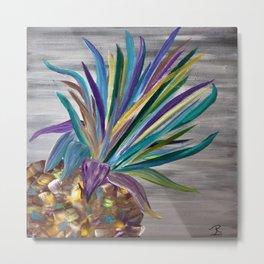 Pineapple Palette Metal Print